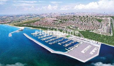 RH 152-Apartments and villas with direct sea view at Beylikduzu marina