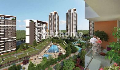 RH 23-Ready to move houses with lake view in Istanbul