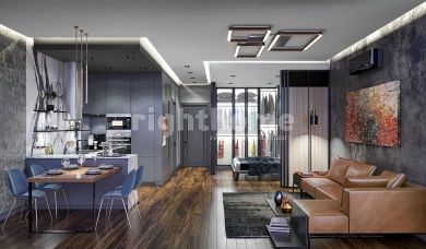 RH 191-Luxury project under construction in Beyoglu area near Taksim Square