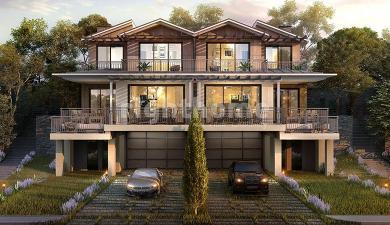 RH 380- Family villas in Zekeriyakoy in the heart of nature