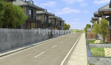 RH 195- Under construction villas with large areas in Buyukcekmece