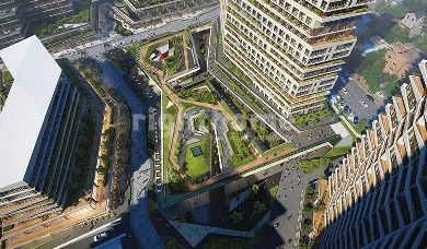 RH 73-Luxury apartments in Basin Express suitable for obtaining Turkish citizenship